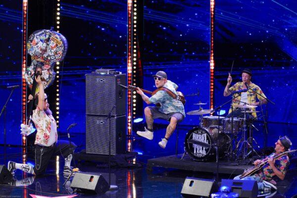 Rebel Tell rockten die Supertalent-Bühne